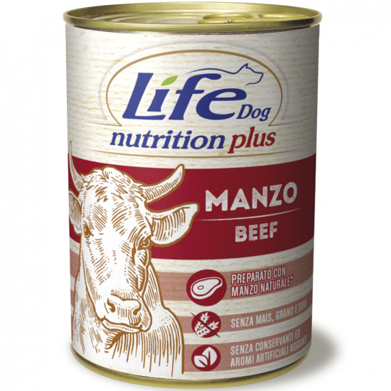 LifeDog Nutrition Plus Beef