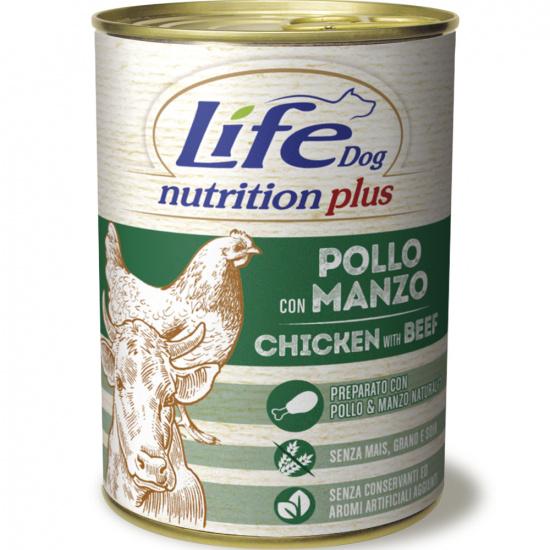 LifeDog Nutrition Plus Chicken & Beef