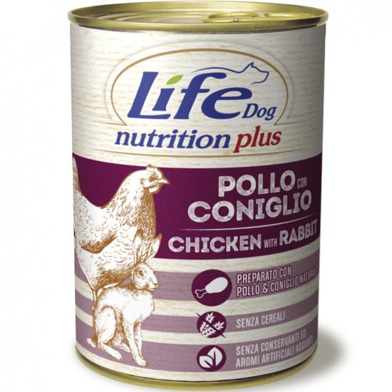 LifeDog Nutrition Plus Chicken & Rabbit