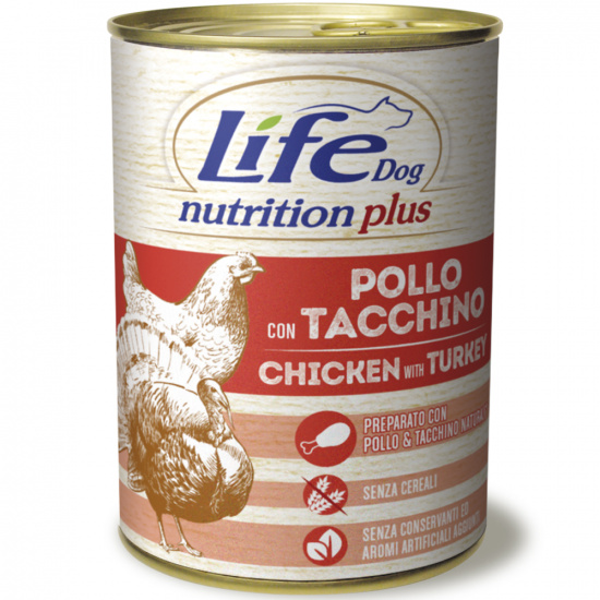 LifeDog Nutrition Plus Chicken & Turkey