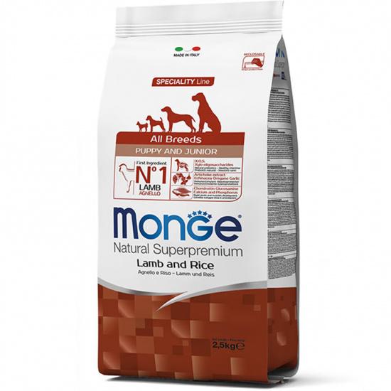 Monge Puppy & Junior All Breeds Lamb, Rice & Potatoes