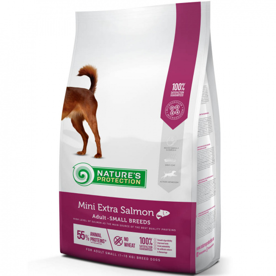 Natures Protection Mini Extra Salmon Adult Small Breeds