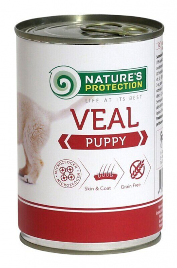 Natures Protection Puppy Veal
