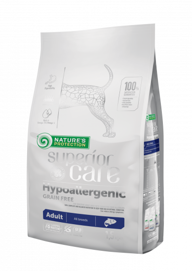 Natures Protection Superior Care Hypoallergenic Grain Free Adult All Breeds