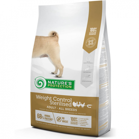 Natures Protection Weight Control Sterilised Adult all breeds