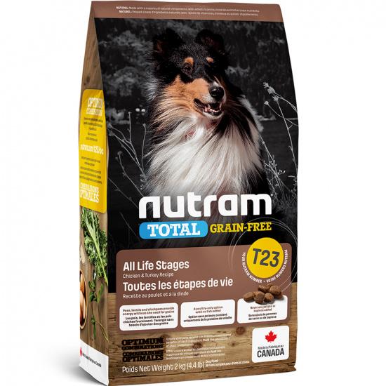 Nutram T23 Total Grain-Free Turkey, Chicken & Duck Dog