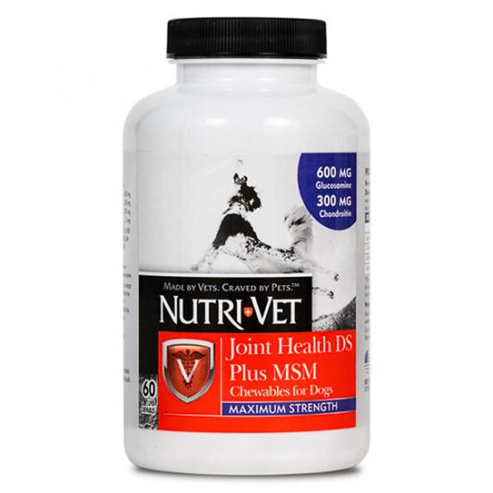 Nutri Vet Joint Health DS Plus MSM Maximum Strength