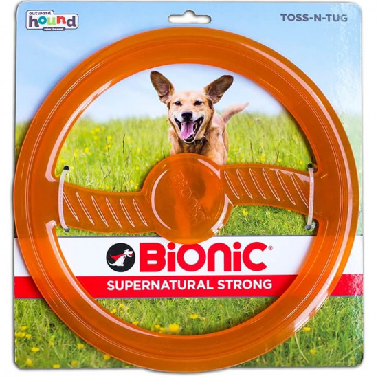 Outward Hound Bionic Opaque Toss-N-Tug Org