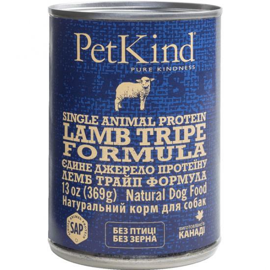 PetKind Lamb Tripe Single Animal Protein Formula