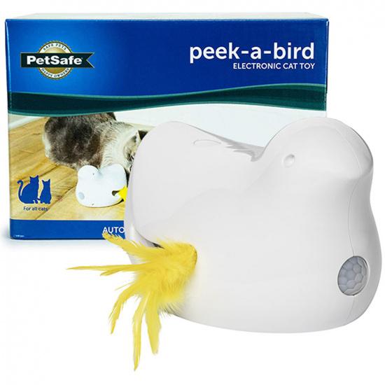 PetSafe Peek-a-Bird Electronic Cat Toy