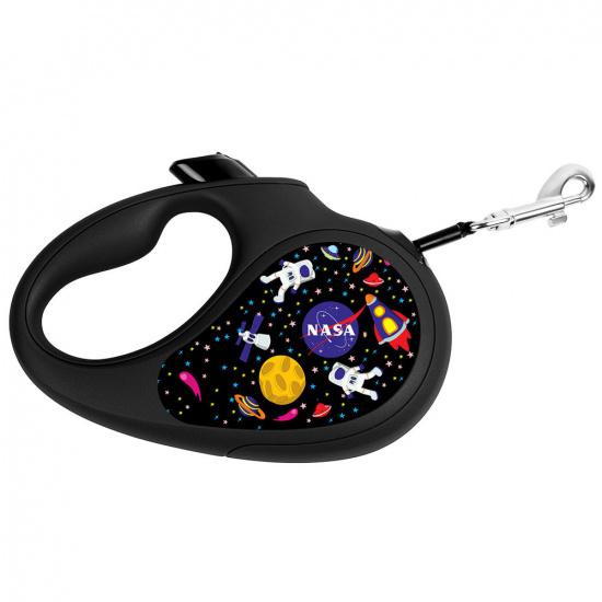 Повідець-рулетка Collar Waudog NASA