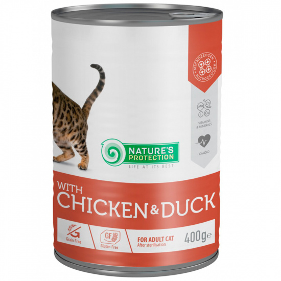 Nature's Protection with Chicken & Duck