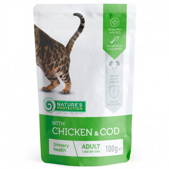Nature's Protection Urinary health with Chicken and Cod