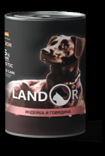 Landor Puppy All Breed Turkey & Beff