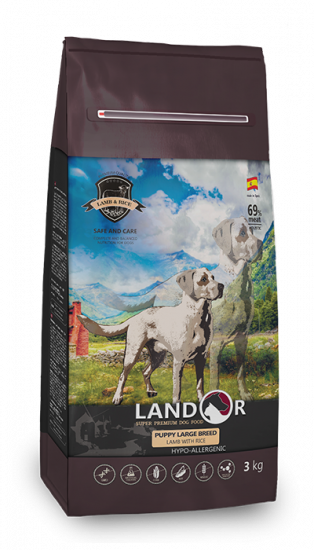 Landor Puppy Large Breed Lamb & Rice