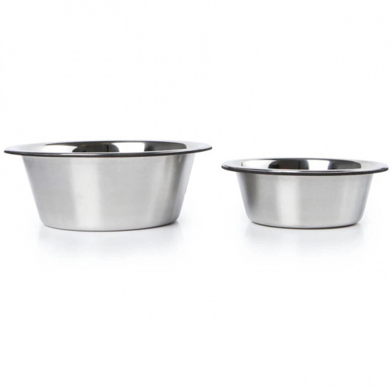 Dexas Stainless Steel Replacement Bowls for Elevated, Collapsible Feeders