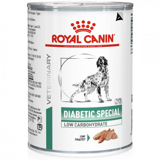 Royal Canin Diabetic Special Low Carbohydrate Dog Cans