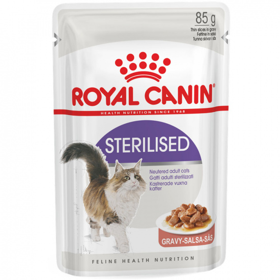 Royal Canin Sterilised Gravy Pouches