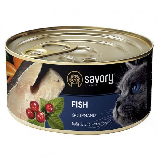 Savory Cat Gourmand Fish