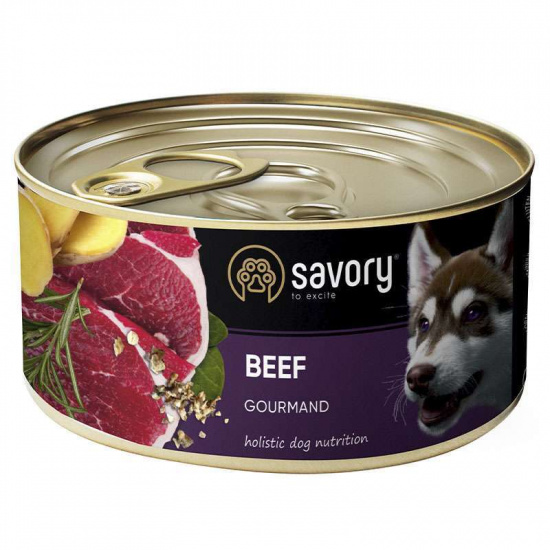 Savory Dog Gourmand Beef