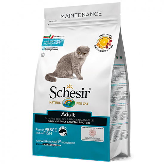 Schesir Cat Adult Fish