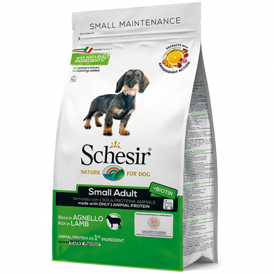 Schesir Dog Small Adult Lamb