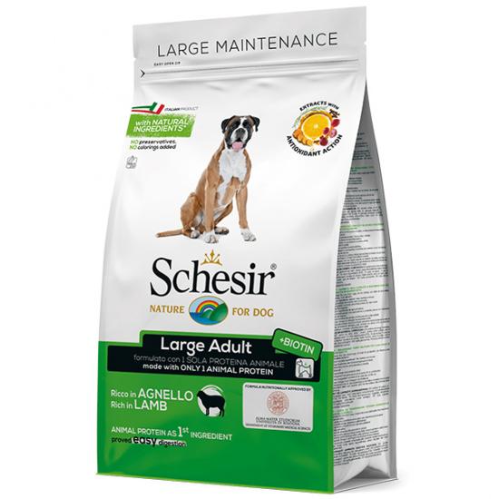 Schesir Dog Large Adult Lamb