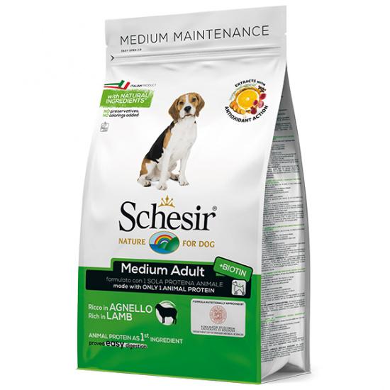 Schesir Dog Medium Adult Lamb