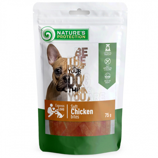 Nature's Protection snack for dogs with chicken