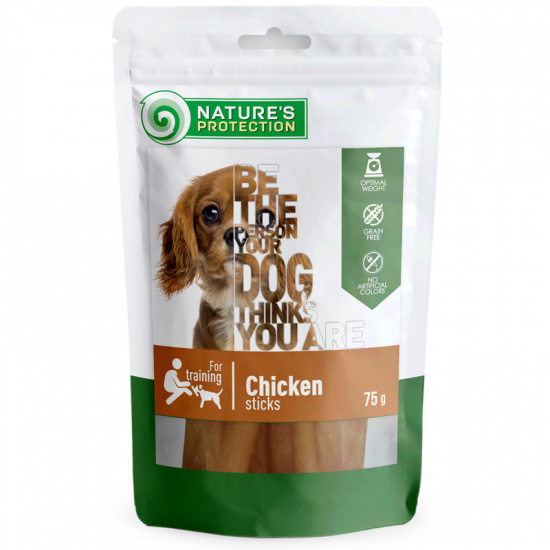 Nature's Protection snack for dogs chicken sticks