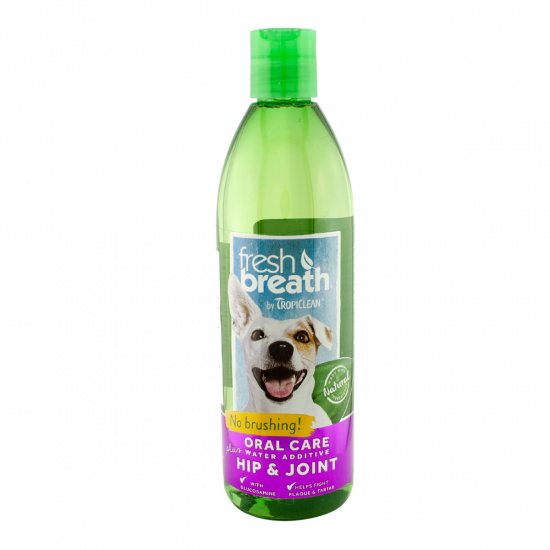 TropiClean Fresh Breath Water Additive Hip & Joint