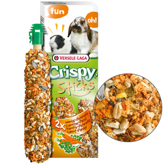 Versele-Laga Crispy Sticks Carrot&Parsley