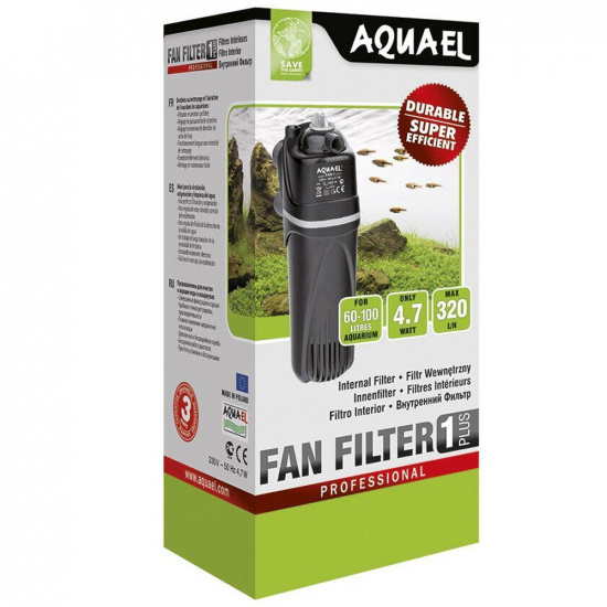 Внутренний фильтр Aquael «FAN-1 Plus» для аквариума 60-100 л