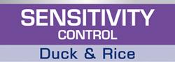 SENSITIVITY CONTROL Duck & Rice -  диета для собак при пищевой аллергии или пищевой непереносимости.