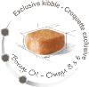 Эксклюзивная формула рациона поддерживает здоровье кожи и красоту длинной шерсти йоркширского терьера. Корм обогащен Омега-3 (ЭПК и ДГК) и Омега-6 жирными кислотами, маслом бурачника и биотином.