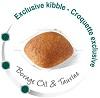 Рацион усиливает барьерную функцию кожи (эксклюзивный комплекс), поддерживает здоровье кожи (ЭПК, ДГК) и качество шерсти; обогащён маслом бурачника.